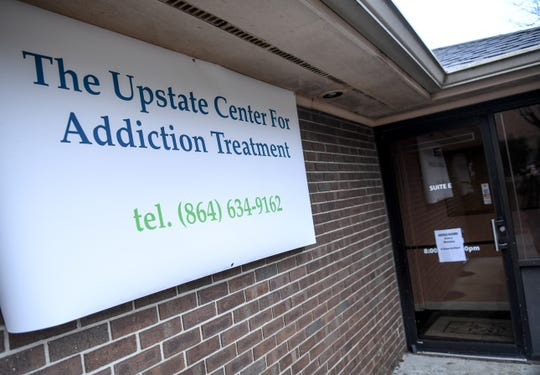 The Upstate Center for Addiction Treatment recently moved into an office on North Fant Street in Anderson after residents opposed plans for the center to occupy a building near Centerville Elementary School.