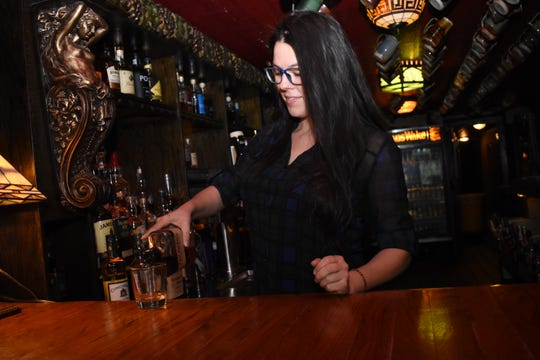 Melissa Scarborough, the head bartender at Finnegan's Wake in downtown Alexandria, is the only whiskey sommelier in Louisiana and one of under a 100 in the world. A whiskey sommelier is an expert in whiskey who can make recommendations to customers.