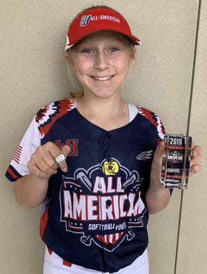 Addison Lund competed in the Softball Youth All-American Games in Irvine, California, and in the Gameday USA Junior All-American Games in Sarasota, Florida.