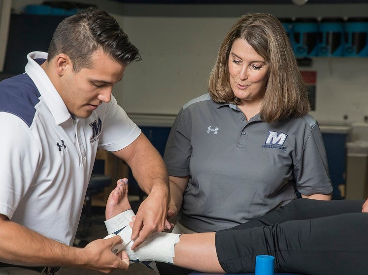 Monmouth University announced the launch of two new graduate degree programs in February: a Master of Science in athletic training and a dual-degree Master of Arts/Master of Fine Arts in creative writing. The university is currently accepting applications for both programs, which will begin in September 2019.