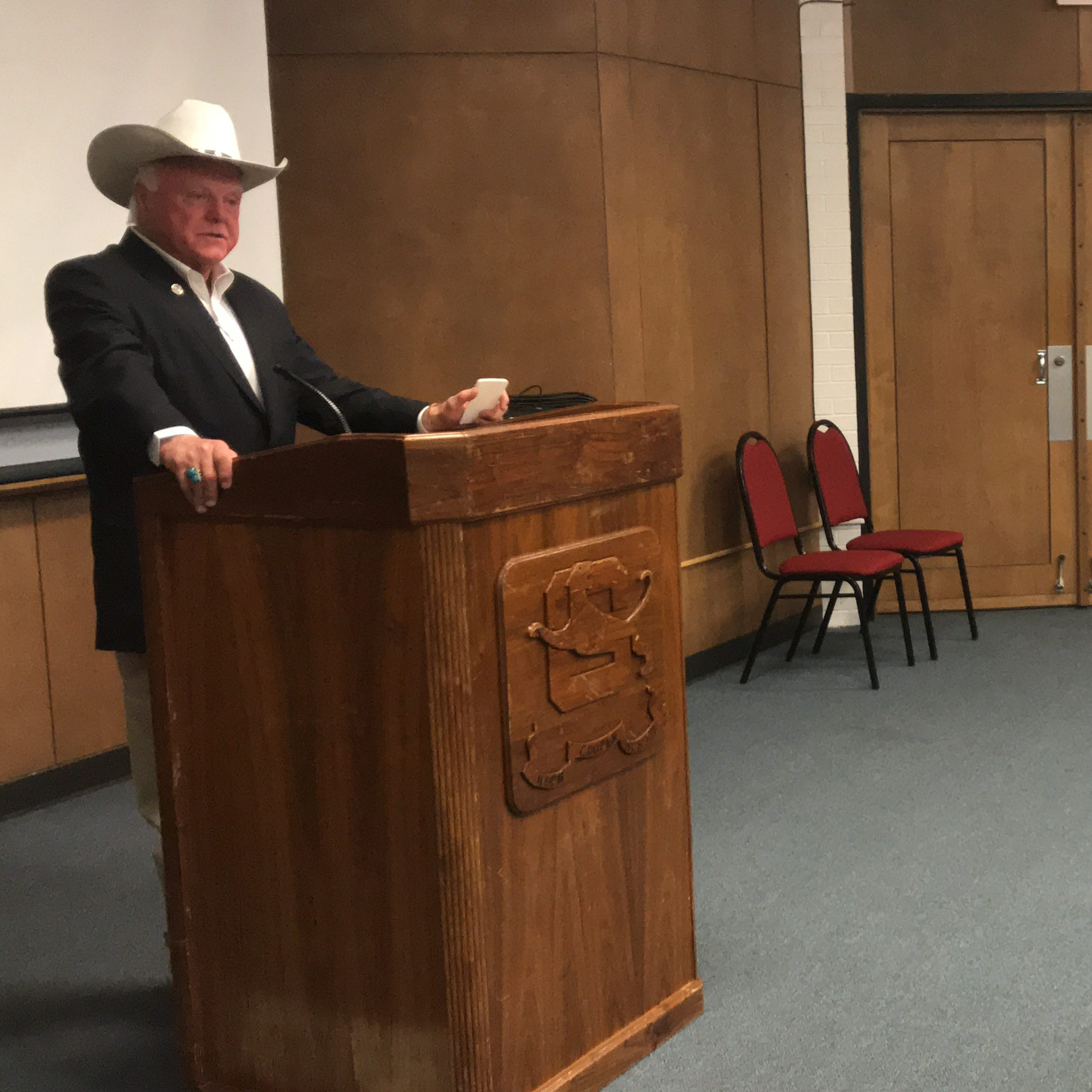 Texas ag commissioner tells Abilene ISD students hemp a 'good crop' for Texas