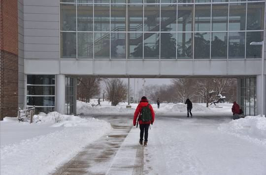 Enrollment has gone down 9 percent in the last decade at Western Michigan University.