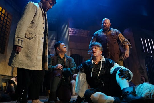 """""""Man of La Mancha,"""" which will be presented Feb. 22 through March 17 at Titusviile Playhouse."""