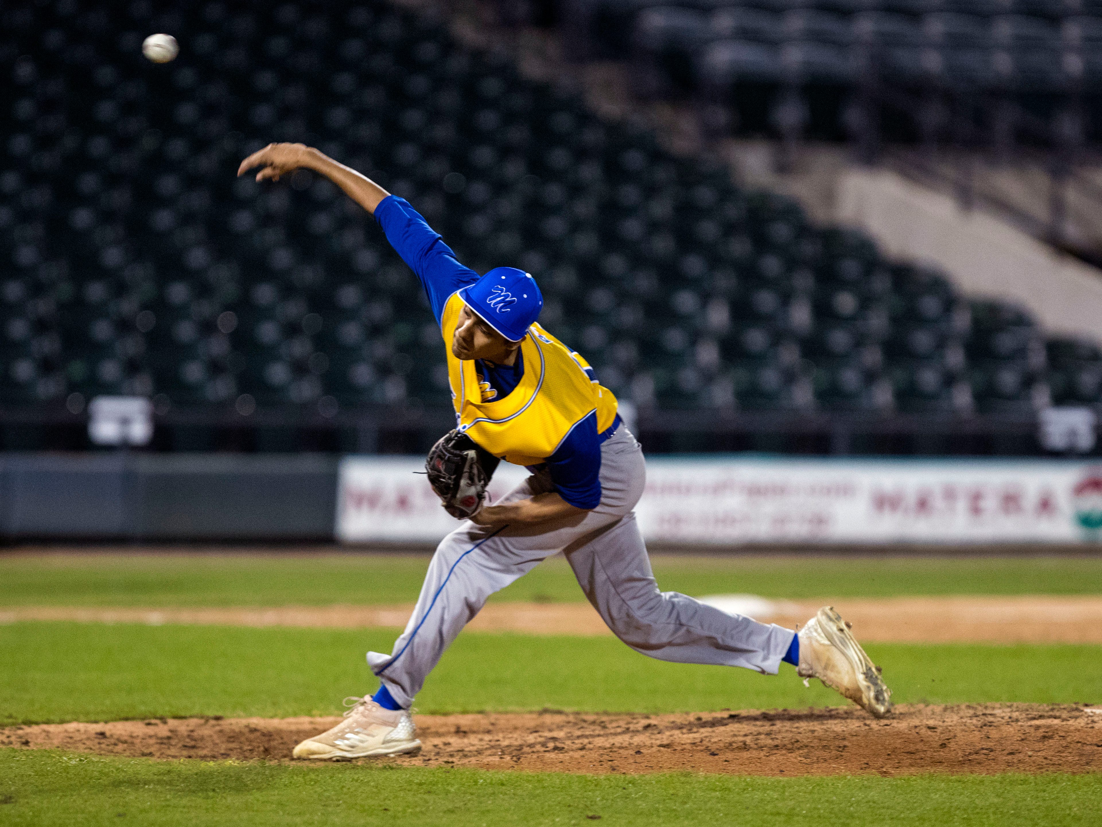 The Moody Trojans took on the Ray Texans in the season opener at Whataburger Field on Monday, February 18, 2019. Moody took an early lead to beat Ray 7-3.