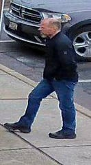 Haddon Township police are seeking this man in connection with an alleged theft at Westmont Ace Hardware.