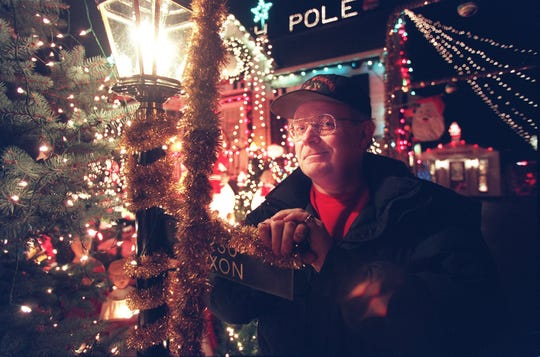 Roy Dixon's Colerain Township home was the site of one of the largest Xmas displays in the Tristate. Dixon decorated his home, first on Brownsway Lane, and then on West Galbraith Road, every Christmas from 1976 to 2017. Last year, his health limited the display, by there were still some lights in the yard. He died Feb. 15.