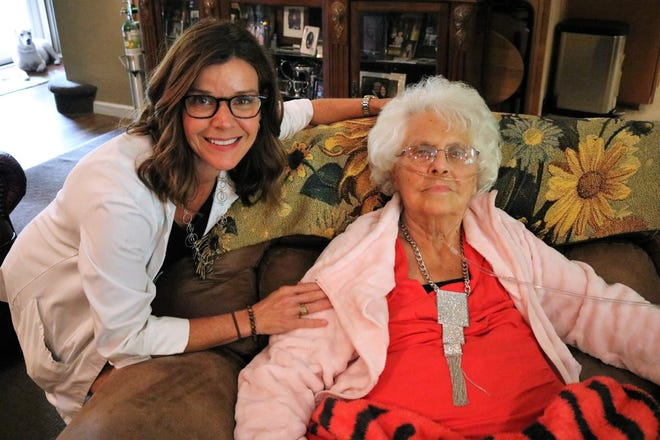"""""""These families open up their lives to me. Hospice is a gift for them and for me. It goes both ways,"""" says Hospice of Cincinnati home care nurse Cathy Flem, RN, BSN, CHPN."""