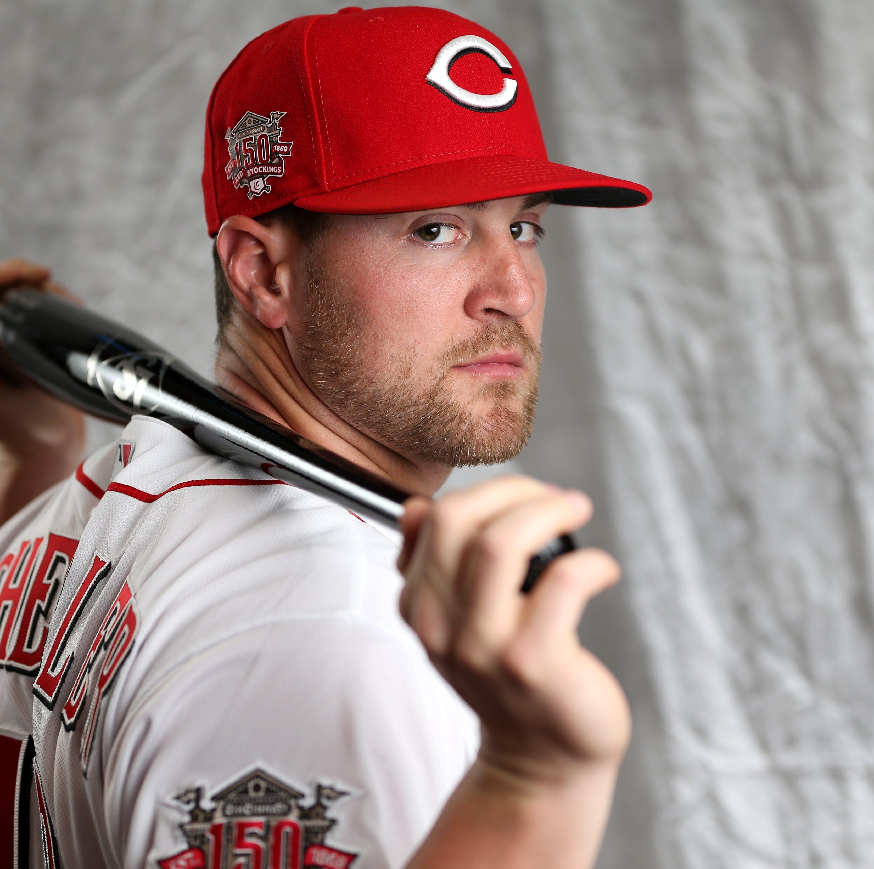Scott Schebler hits 3-run homer in Cincinnati Reds' spring win over San Diego Padres