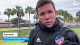 FC Cincinnati discusses its preseason match in the Carolina Challenge Cup against the Chicago Fire