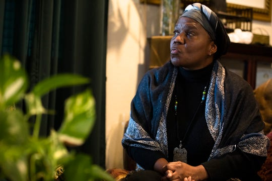 Tamar Israel-Griffin, 58, a member of the of the Cincinnati-based Nation of Israel, an Afro-Jewish community, says her faith has helped her understand her place as a black person in America.