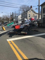 Crash on Route 27 and Heathcote Road in South Brunswick near the Princeton border.
