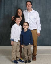 Daniel Sussman and his wife, Jori, and their two boys, Levi and Andrew.