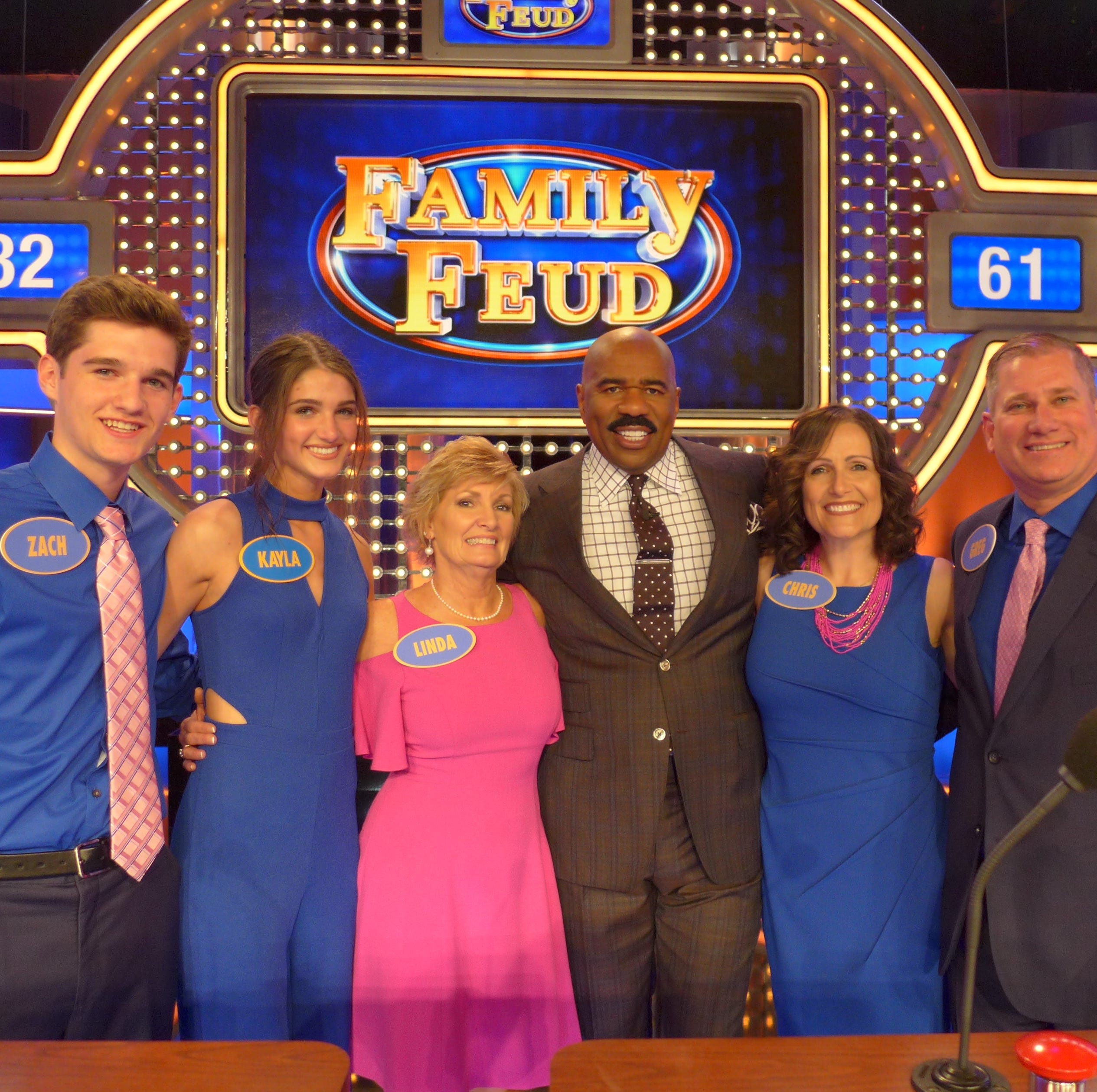 Milltown family takes on Steve Harvey and Family Feud
