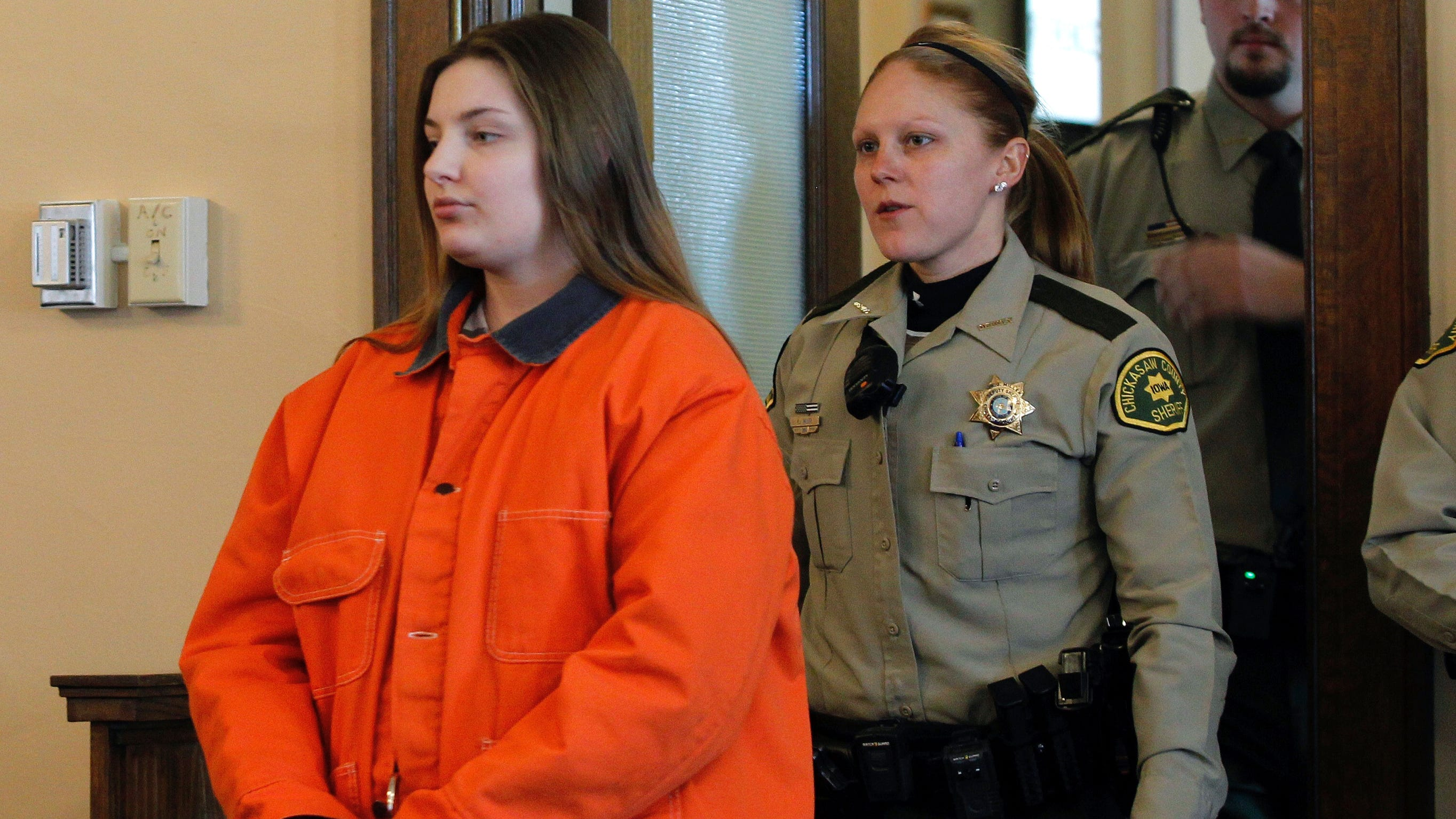 Iowa mother gets life sentence for the death of her infant son