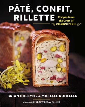 Pate, Confit, Rillette cookbook by Brian Polcyn and Michael Ruhlman