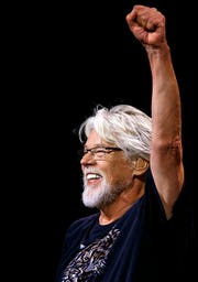 Bob Seger & the Silver Bullet Band perform at the Palace of Auburn Hills on Sept. 23, 2017.