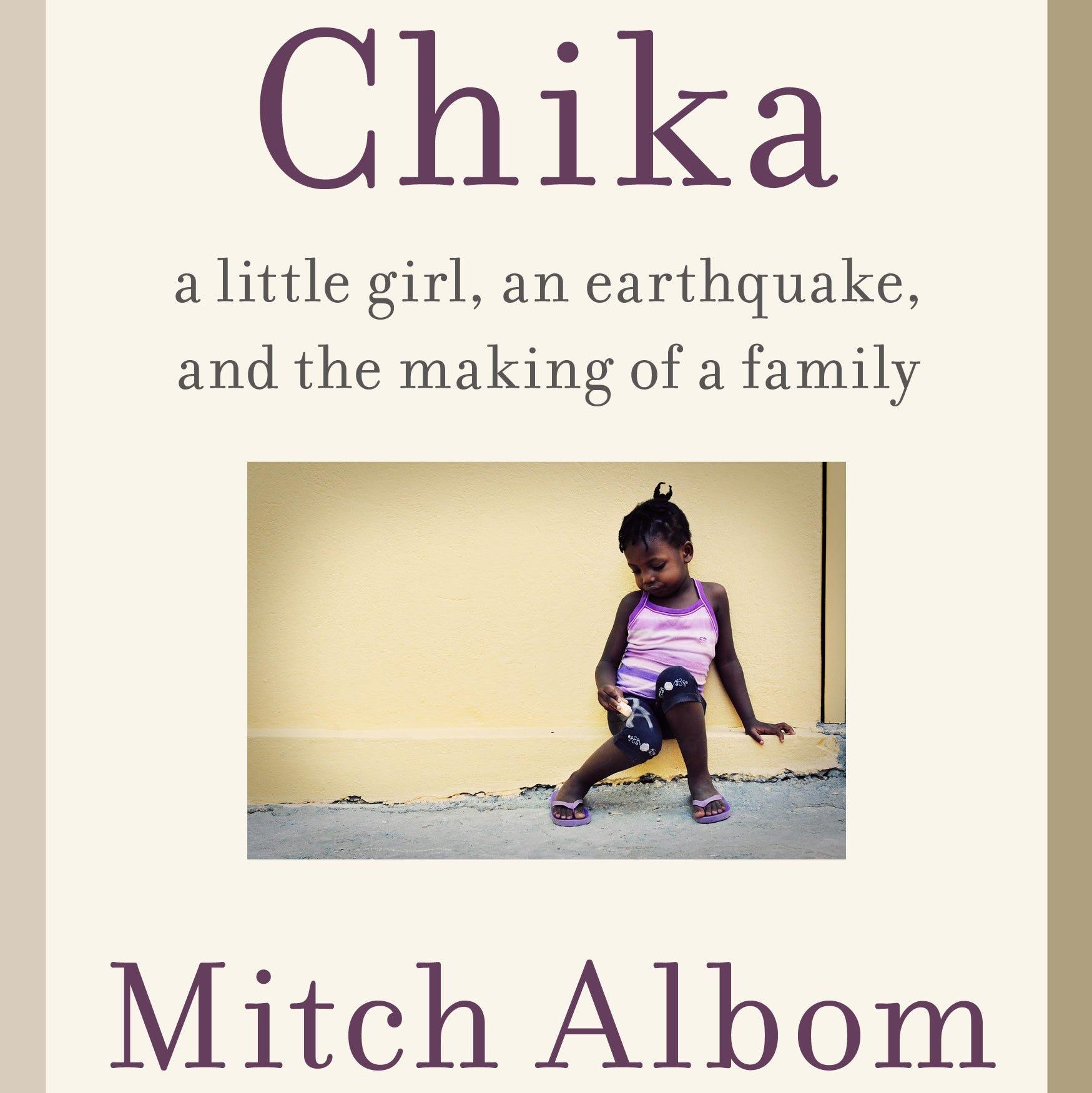 New Mitch Albom book, 'Chika,' written 'through a few tears,' coming in November