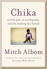The cover of Mitch Albom's new book.
