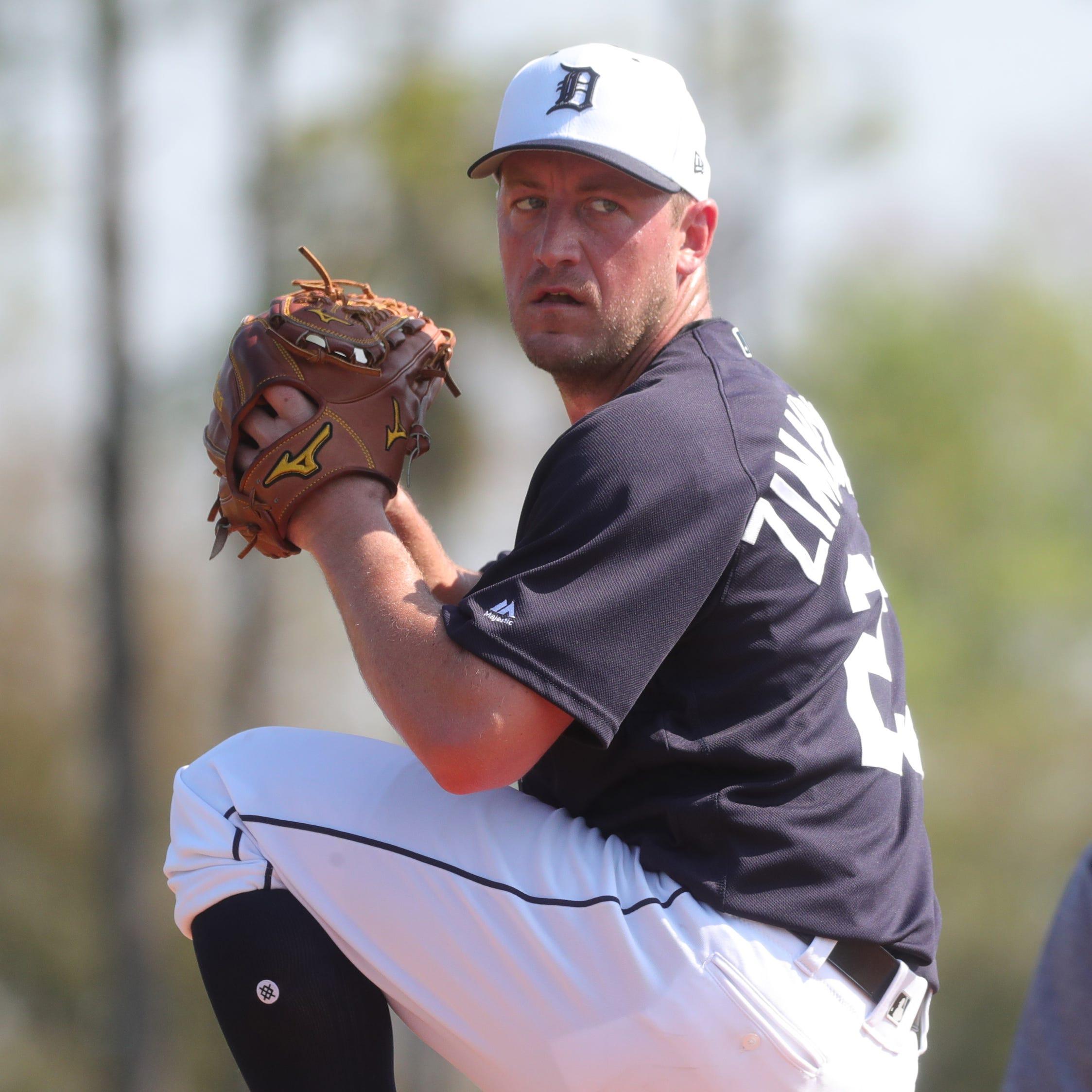 Detroit Tigers observations: How Jordan Zimmermann improved delivery