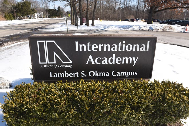 The Lambert S. Okma campus of the International Academy  in Bloomfield Hills on Friday, February 15, 2018.