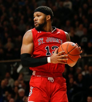 St. John's forward Marvin Clark II is averaging 11.5 points and 5.6 rebounds in his second season with the Red Storm, after transferring from Michigan State.