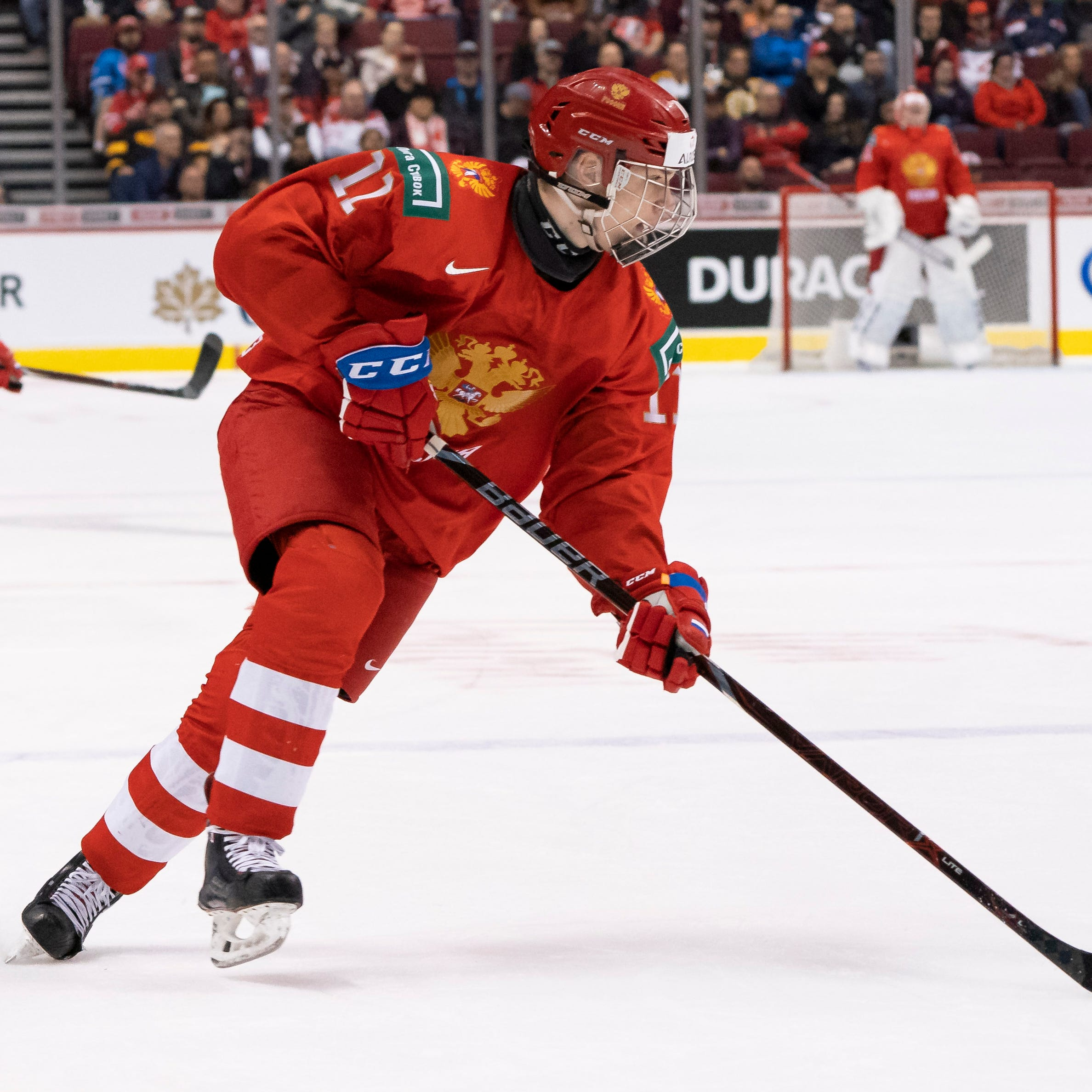 Red Wings select wing Vasili Podkolzin at No. 4 in ESPN NHL mock draft