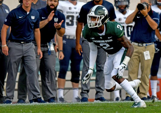 Justin Layne, at No. 83 overall, was the first Spartan taken off the board.