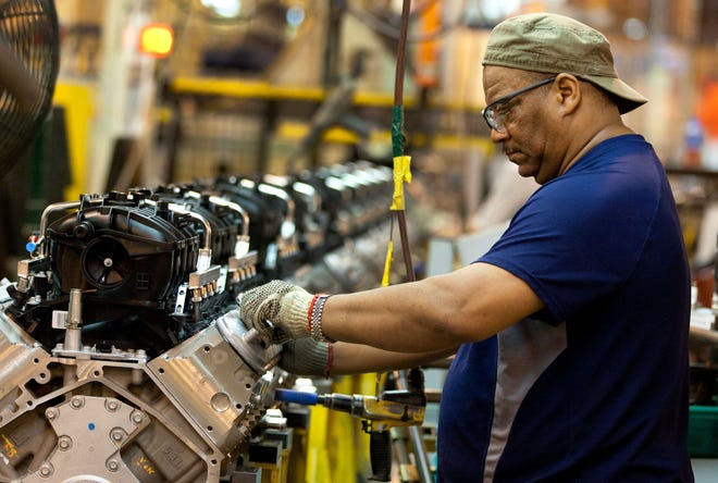 GM said Feb. 19, 2019, it would spend $20 million at its Romulus plant to buy new machines to increase production of 10-speed transmissions.