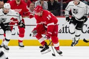 Red Wings forward Gustav Nyquist has 48 points (15 goals) in 59 games.