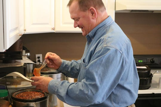 """George Secor, president and CEO of Sunrise Cooperative, served as a 2018 celebrity judge for Riders Unlimited's """"Hot To Trot"""" chili cook-off fundraiser. Riders Unlimited is holding its 2019 chili cookoff and Redneck Plunge Saturday."""