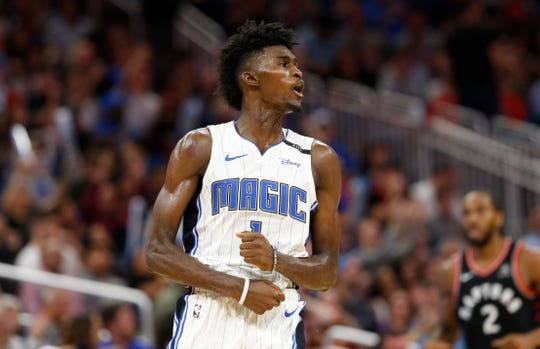 Orlando Magic power forward Jonathan Isaac hopes to lead his team to their first playoff appearance since 2012.