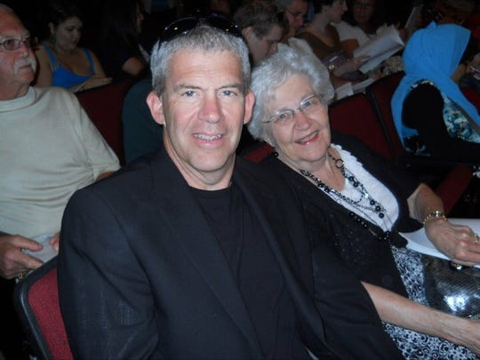 My mom, Flossie, at my oldest daughter Mary's graduation from FAU.