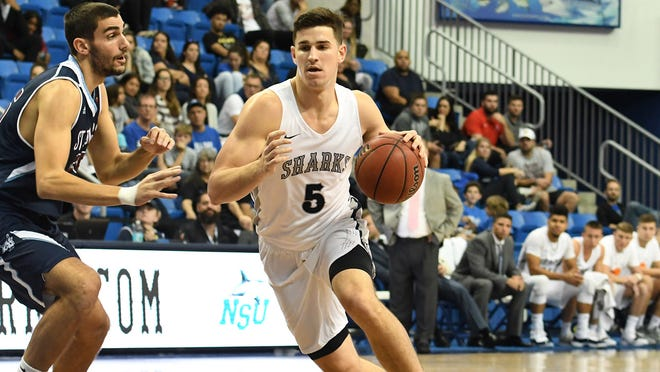 Fort Myers High School alum Mark Matthews is leading Division II Nova Southeastern University in scoring and rebounding this season. The Sharks are a top-5 nationally ranked team.