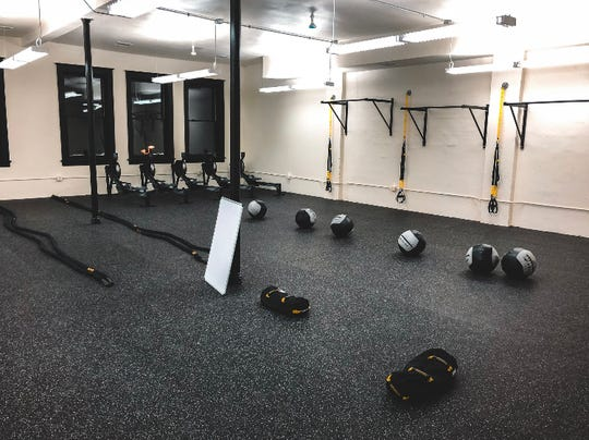 MOVE Fitness Studio's third-floor space in the former International Harvester building at 128 N. Broadway.