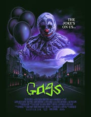 """""""Gags"""" promotional poster"""