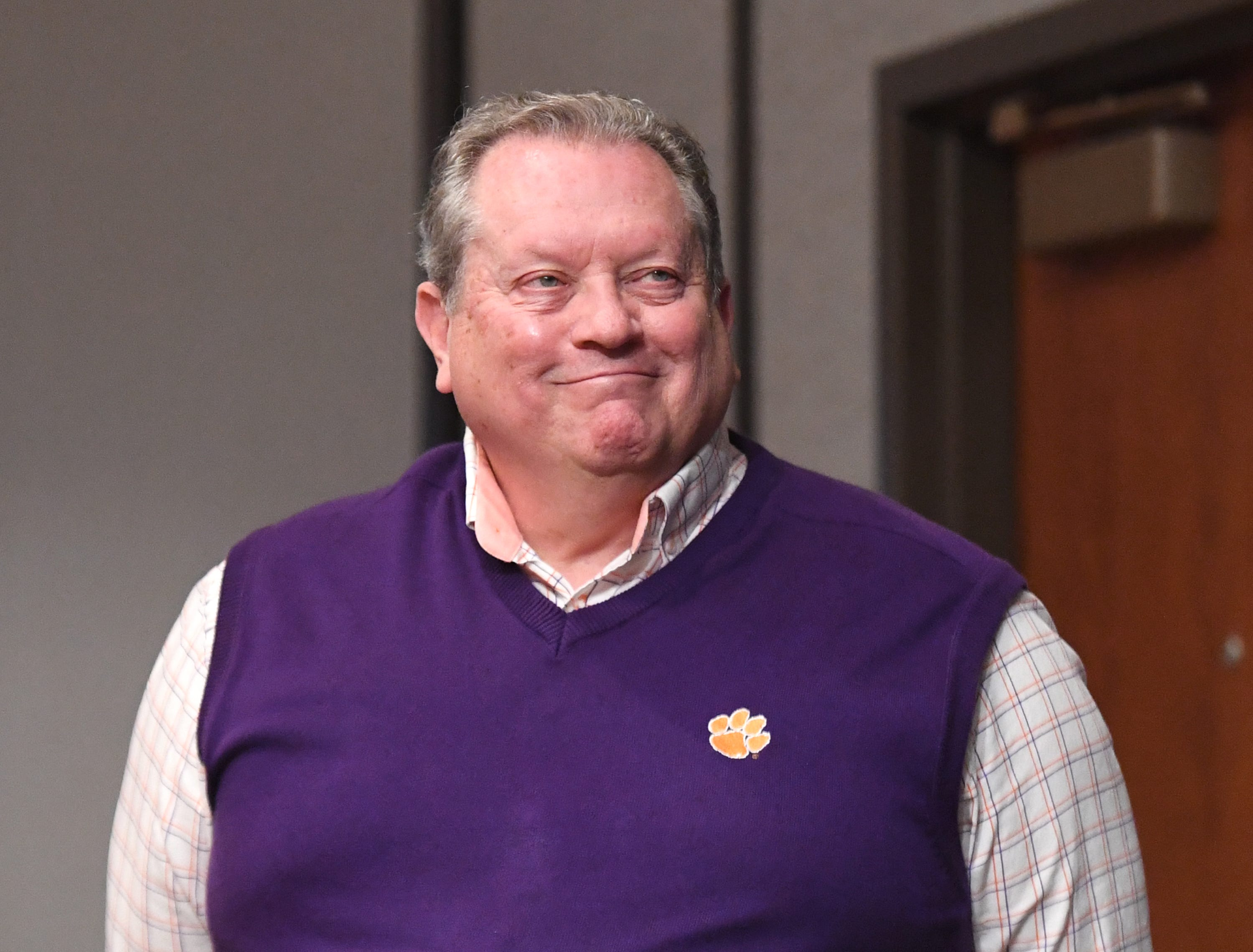Jerry Chapman, a former city council member for the City of Clemson, was the recipient of the Abernathy/Cox One Award which was presented at the State of Clemson event held at the Madren Center Tuesday, Feb. 19, 2019.  The award is given to on individual and one organization.