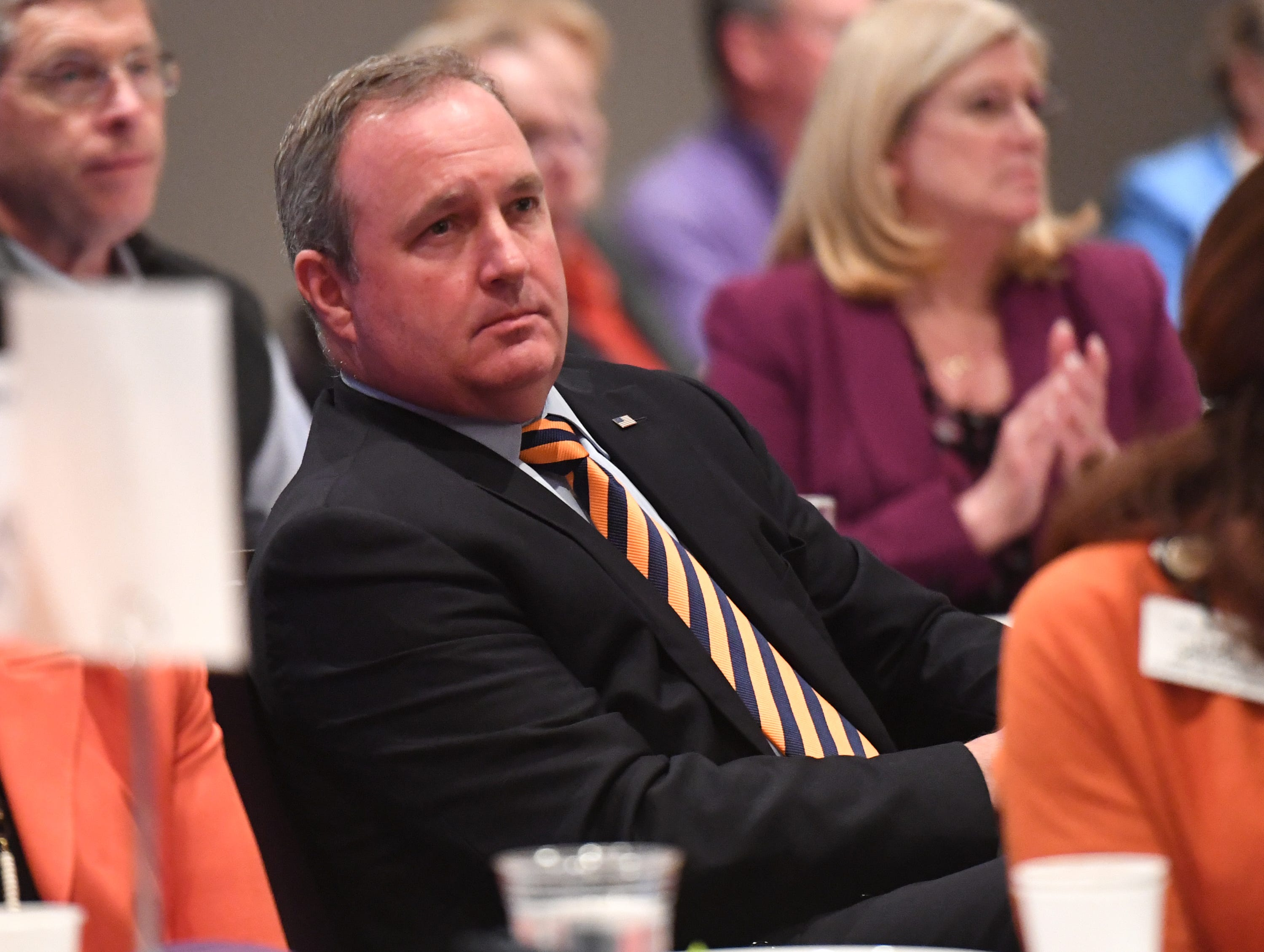 U.S. Rep. Jeff Duncan attends the State of Clemson event held at the Madren Center Tuesday, Feb. 19, 2019.