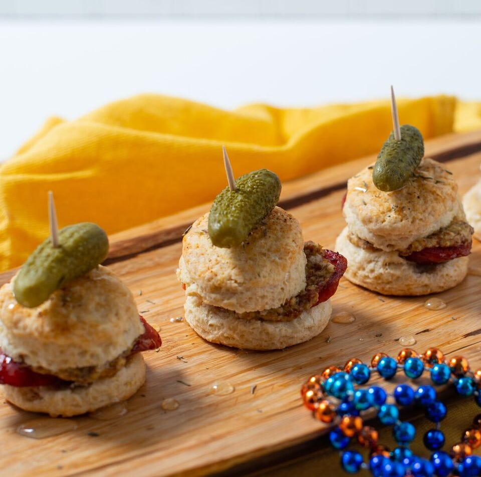 Party like it's Mardi Gras with recipes from NOLA