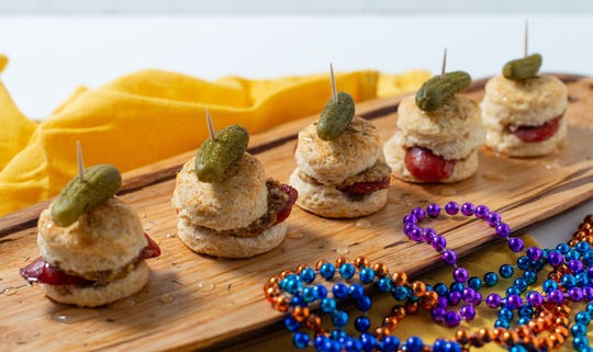 Food columnist Rhonda Adkins took a class from the New Orleans School of Cooking.