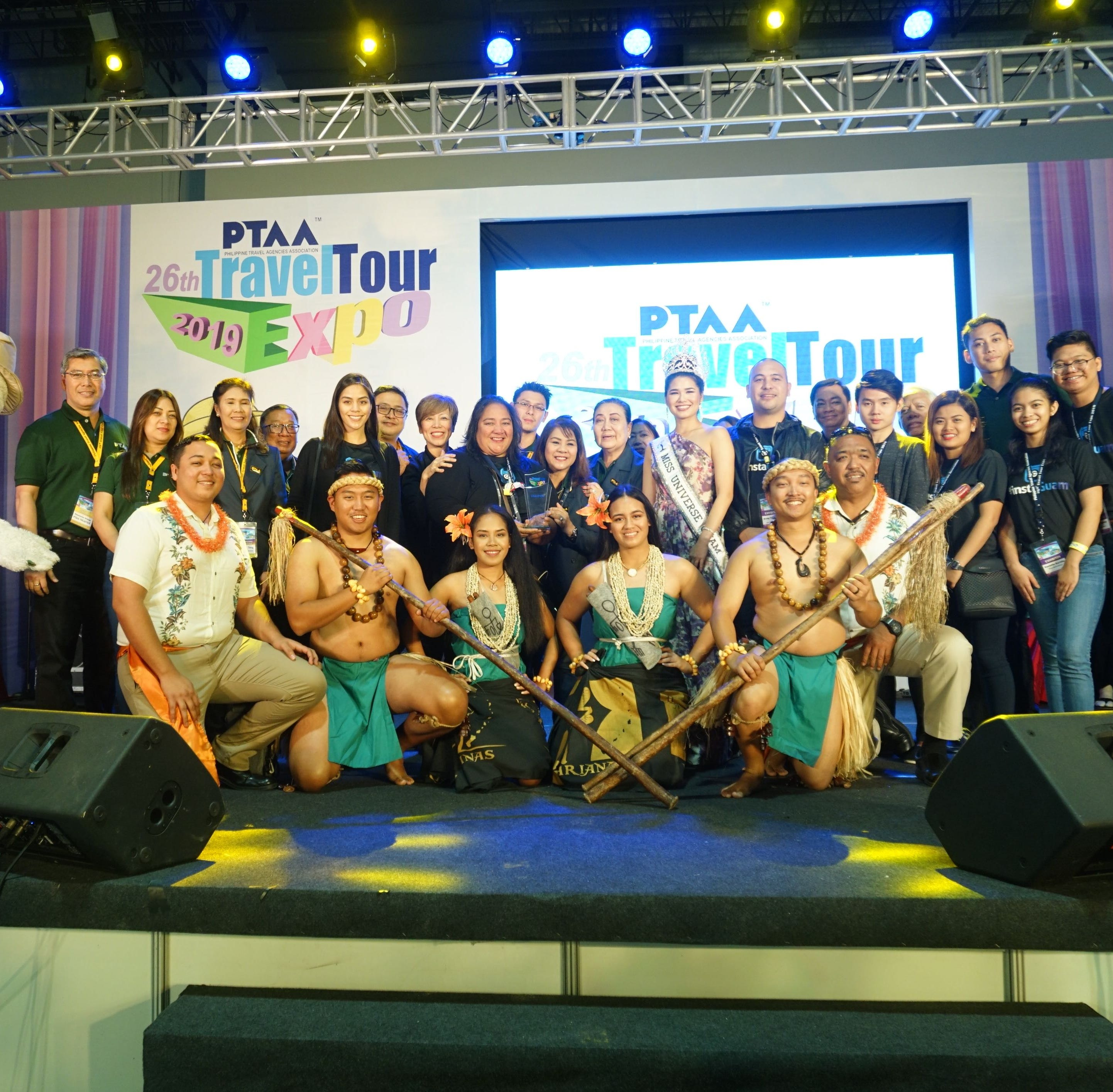 Team Guam wins award at Philippines travel show