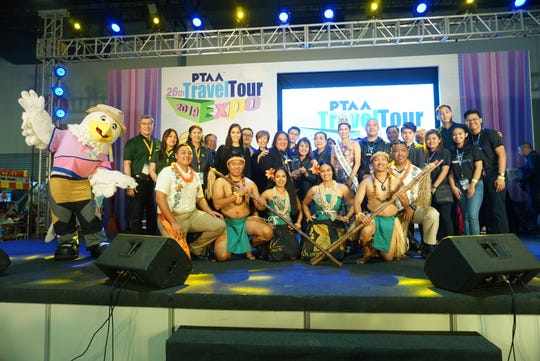 Team Guam is recognized with the best performance award for featuring the CHamoru culture at the 26th PTAA Travel Tour Expo.