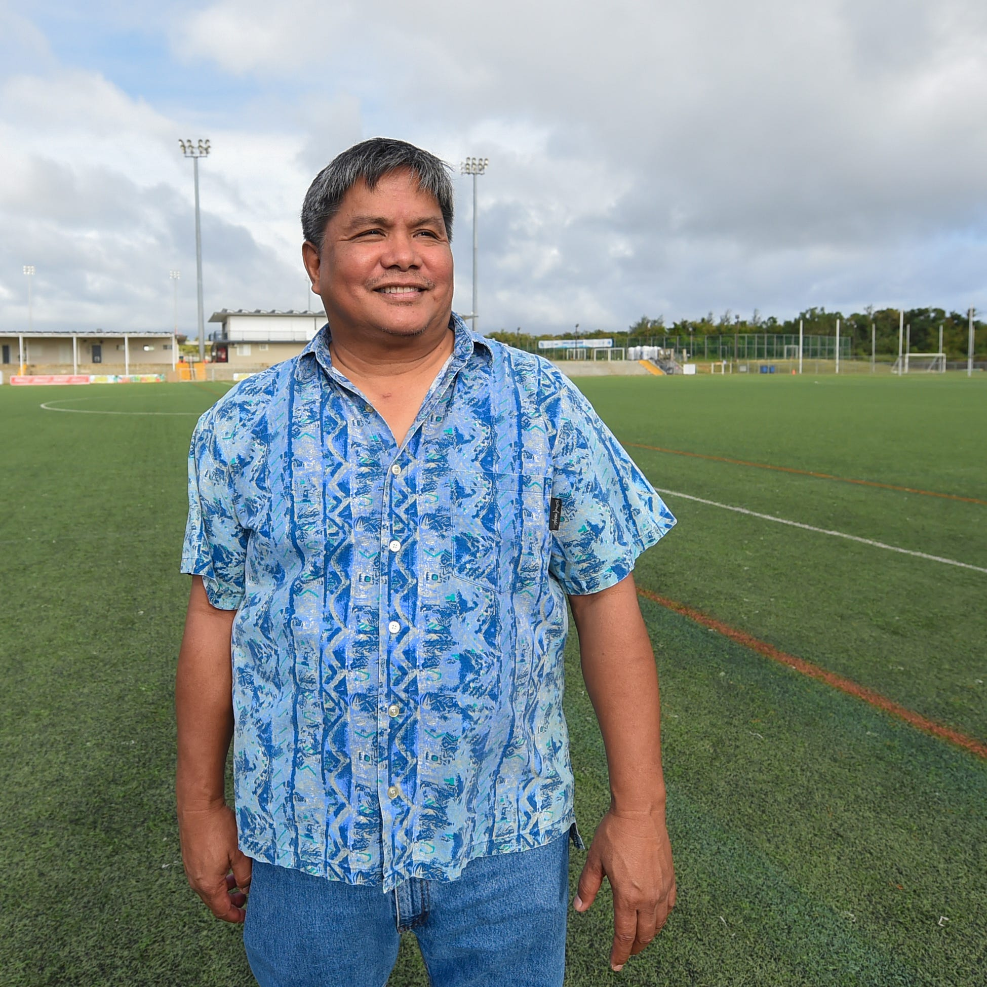 San Gil has high goals for Guam Football Association