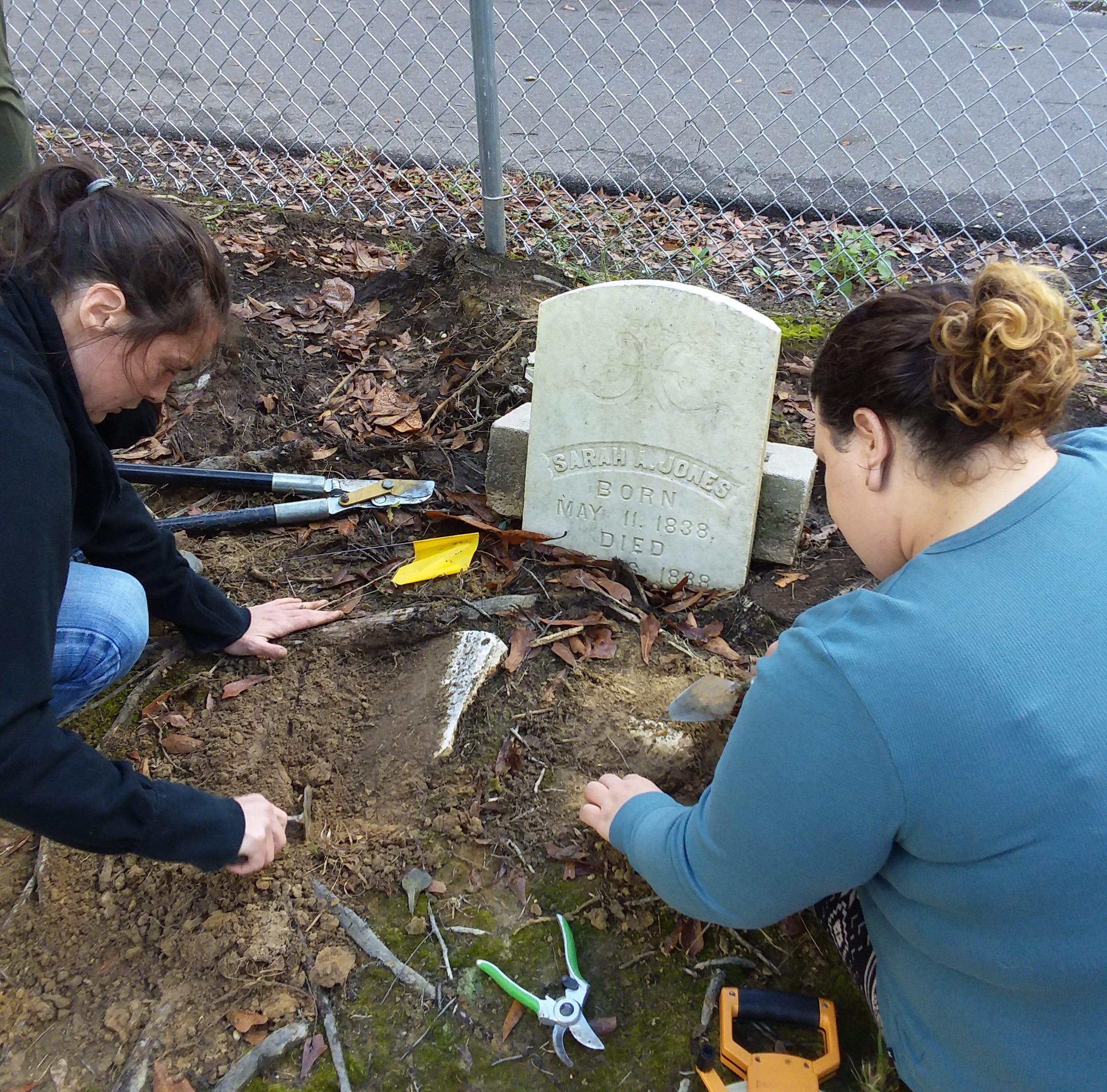 Cemetery detectives: Radar, records unearth clues to Hattiesburg's past. What did they find?