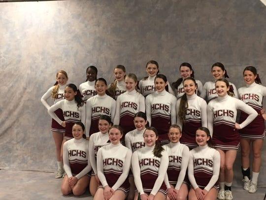 Henderson County High School cheerleaders recently took part in Nationals in Orlando, Florida.