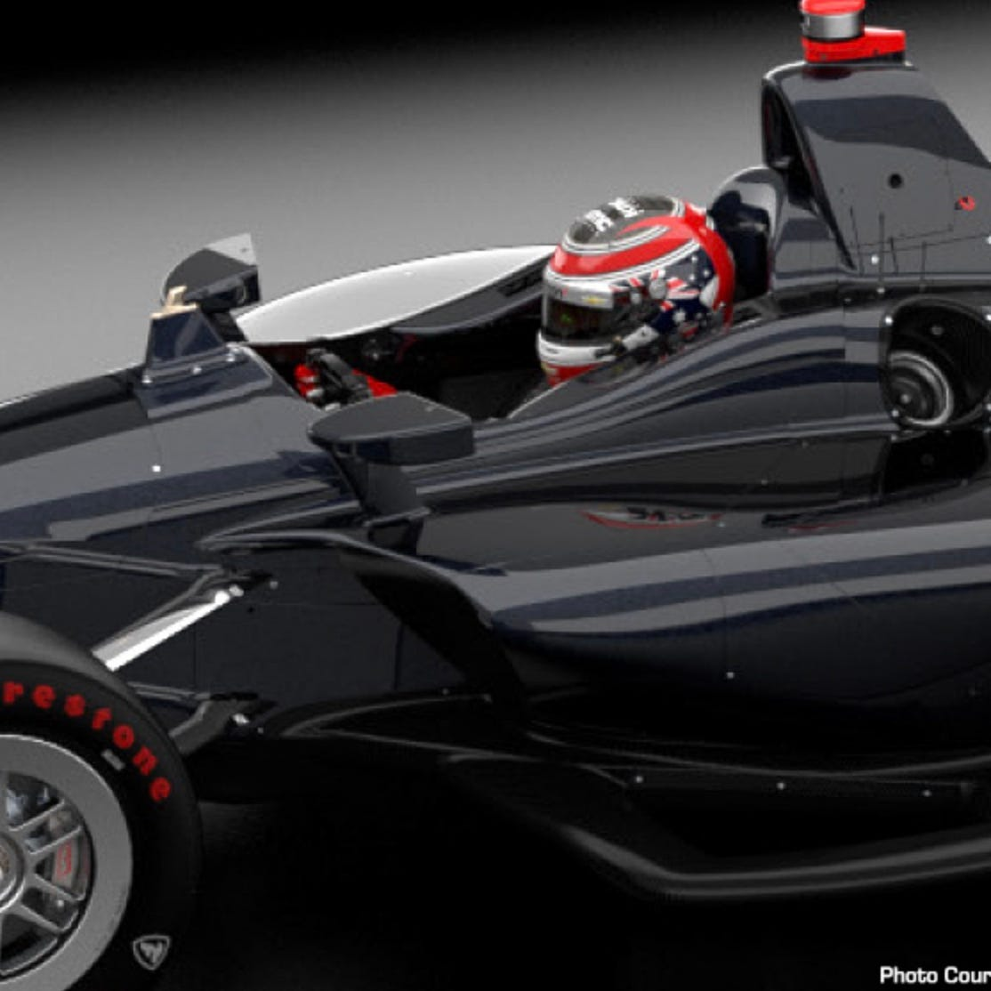 IndyCar's advanced frontal protection device is 3...