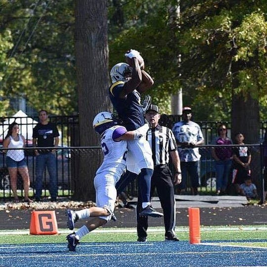 Marian University receiver Kray'Shawn Brewer is getting a chance to play pro football in the National Gridiron League