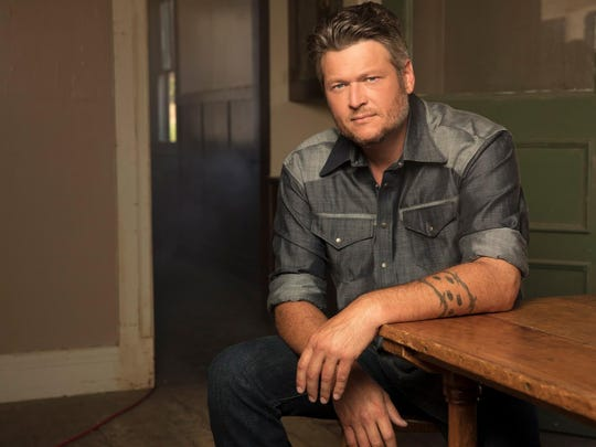 Blake Shelton will perform Feb. 21 at Bankers Life Fieldhouse.