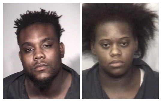 Jackson police have issued warrants for Robert Tipler (left), 29, of Lexington, and Teriney McIntosh (right), 21, of Jackson in connection with a Monday night shooting death.