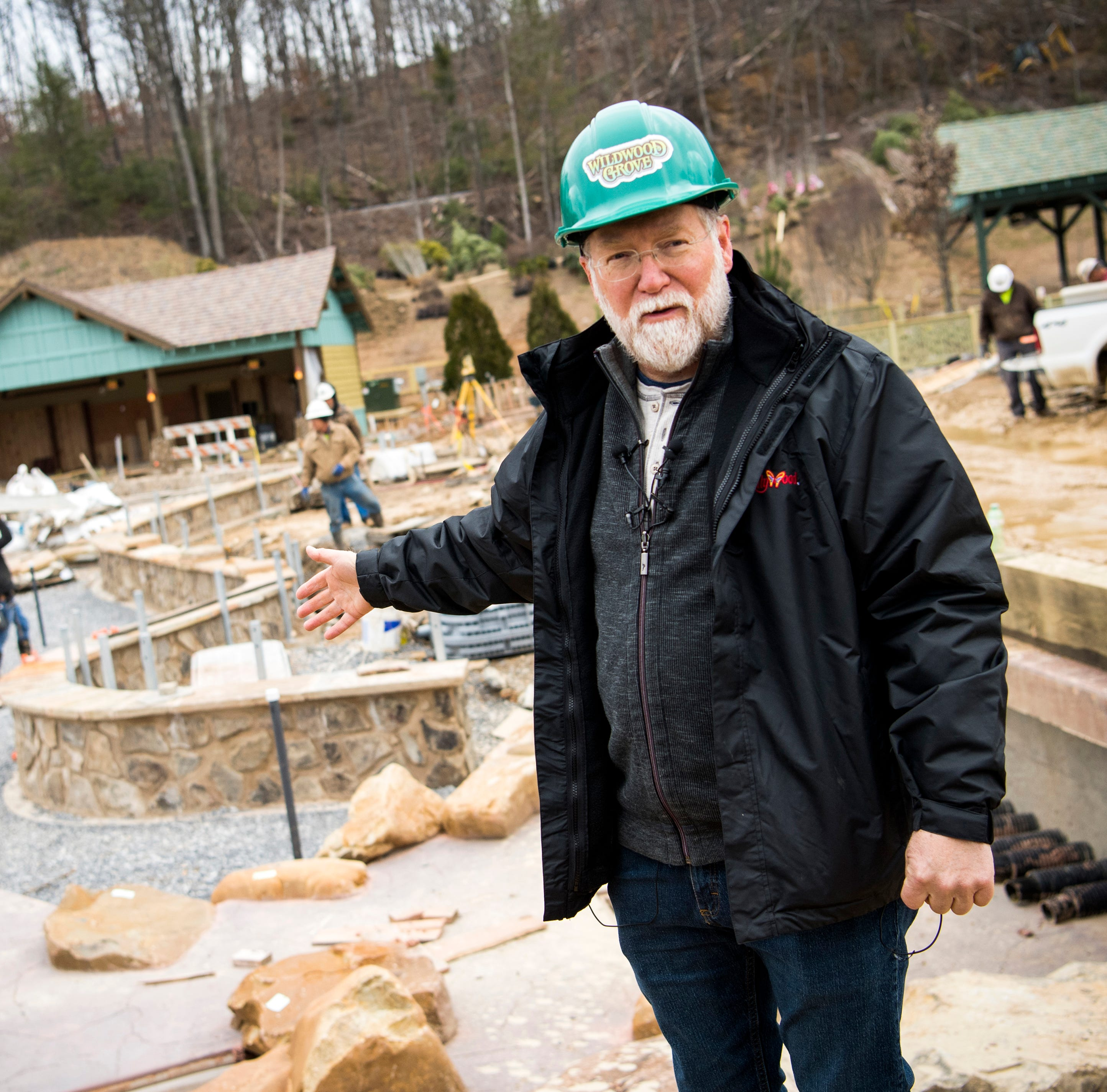 Take a tour of Dollywood's new Wildwood Grove, set to open in May