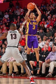 Feb 16, 2019; Athens, GA, USA; LSU Tigers 